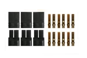 Connettori TRAXXAS anti spark - 3M+3F