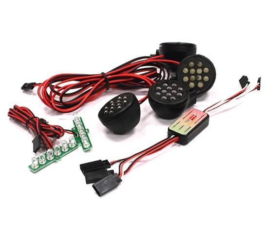 Kit LED completo con controlbox KM per BAJA