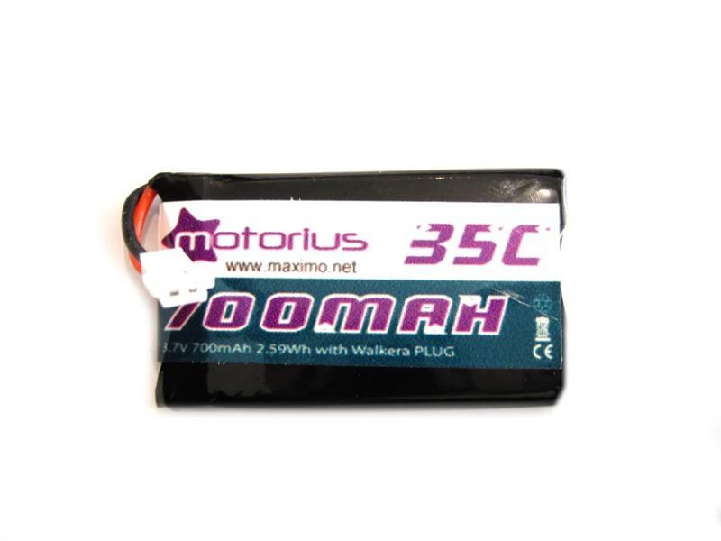 Batteria Li-Po 3.7v - 700mAh