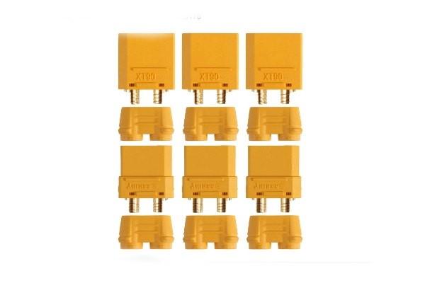 Connettori XT90 anti spark - 3M+3F