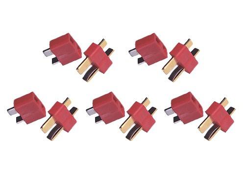 Connettori T-Plug DEAN - 5M+5F
