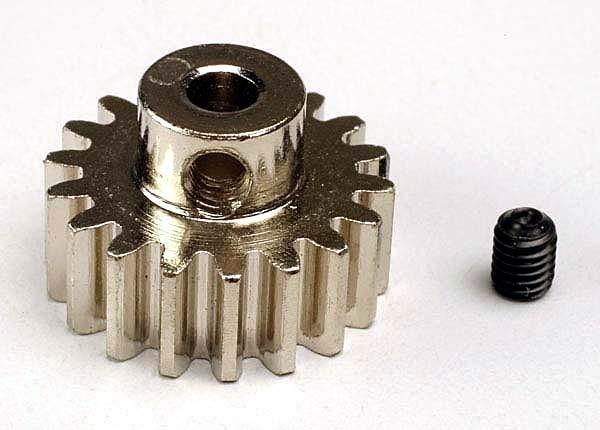 TRX3948- Ingranaggio pignone 18-T (32-p) in acciaio
