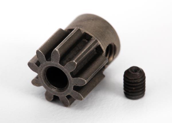 TRX6745- Ingranaggio pignone 9-T (32-p) in acciaio