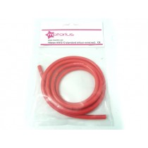 Cavo siliconico AWG10 rosso - 1 metro