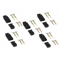 Connettori FUTABA - 5M+5F