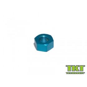 52014 DADO M8 ESAG. In ergal blu DIN934