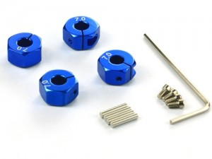 57807B Set trascinatori da 7mm - Blu