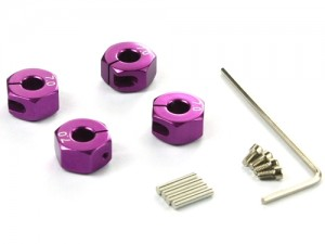 57807P Set trascinatori da 7mm - Viola